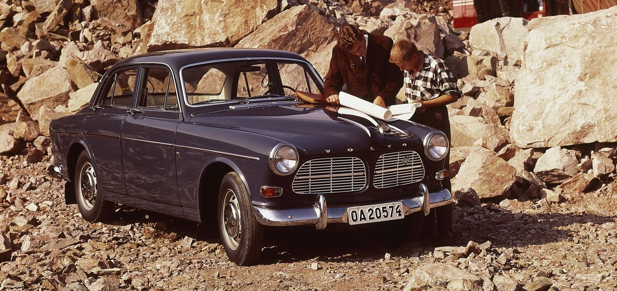 Volvoklub ČR - P1200/P120 AMAZON